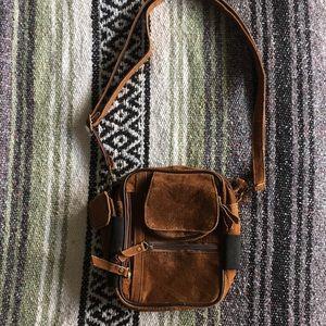 Handbags - Vintage Crossbody Leather Purse